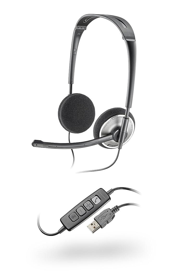 カールふくろう弾力性のあるPLANTRONICS Audio 478
