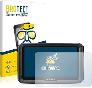 BROTECT Protector Pantalla Compatible con Garmin dezl 770 LMT-D Protector Transparente (2 Unidades) Anti-Huellas