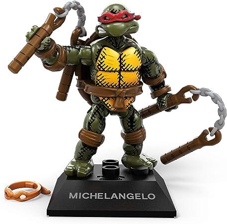 Mega Contrux Black Series TMNT Teenage Mutant Ninja Turtle Michelangelo