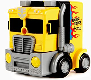 Pencil Sharpener for Learning Toys with Cool Truck Appearance,Amazing Gifts with Hand Waved Pencil Sharpener.