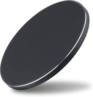 AT&T Qi Certified Fast Wireless Charger - Compatible with Samsung, Apple iPhone X, iPhone 8, and iPhone 8 Plus - WC50