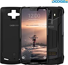 "DOOGEE S90 4G Modular Rugged Smartphone Unlocked Android 8.1-10050mAh Battery (Included Power Module) 6.18""FHD+ 6GB RAM+128GB ROM 8MP+16MP Camera - Waterproof Unlocked Cell Phone Outdoor - Black"