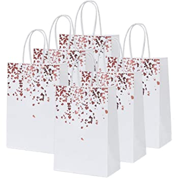 WantGor Gift Bags with Handles 14.2x10.2x4.3inch Paper Party