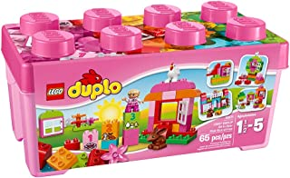 LEGO 6059071 DUPLO All in One Pink Box of Fun 10571