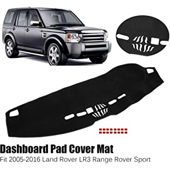 Amazon Com Xukey Dashboard Cover For Land Rover Lr3 Range Rover Sport Dash Cover Mat Automotive