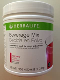 Herbalife Beverage Mix – Wild Berry, Canister (14 Servings)