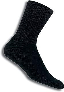 Thorlo, Calcetines de Tenis Unisex, Negro, Grande