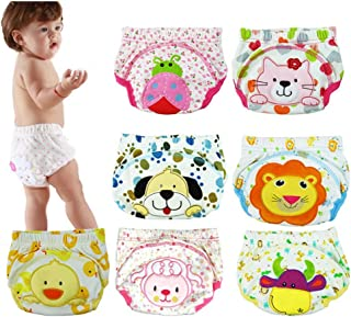 Jinglun Showtime Baby Toddler 7 Pack Toilet Training Pants Nappy Underwear Cloth Diaper