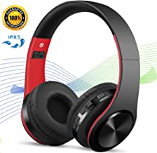Bluetooth Headphones Noise Cancelling Headphones, Hi-Fi Stereo, Foldable with Microphone, Wireless/Wired Mode, Compatible with iPhone XR XS X 8plus 7plus 6plus 7s 6s