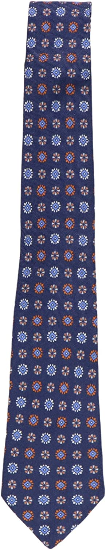 Canali Men's Floral Silk Tie Set