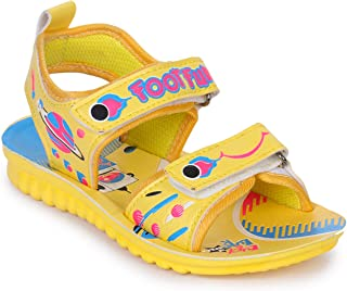 Liberty Lucy & Luke Dollitte-2-Yellow Kids Casual Sandal