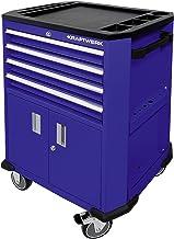 Kraftwerk 2906BU Carro herramientas azul con 4 cajones y 2 puertas, 69x47x98.9