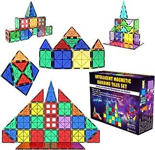 Desire Deluxe Kit Bloques de Construcción Magnéticos 3D para Niños y Niñas de 3 4 5 6 y 7 Años - Juguete Educativo con Fig...