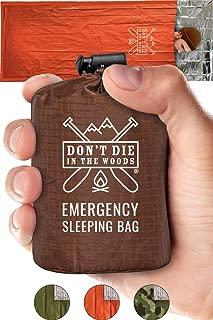 Emergency Sleeping Bag With Hood | Ultralight,...