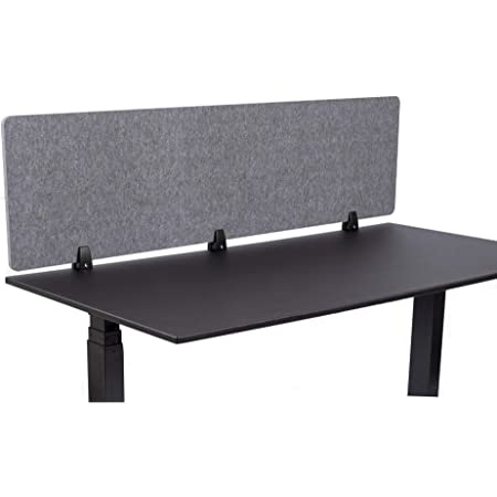"""Details about  /12/"""" Acoustical Desk Mounted Privacy Panel"""