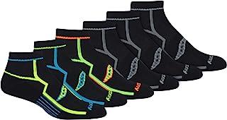 Saucony mens Multi-pack Bolt Performance Quarter Socks
