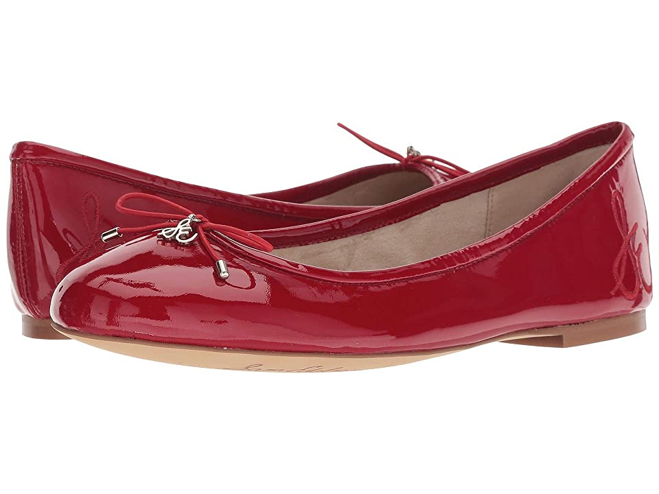 Sam Edelman Felicia (True Red Soft Cow Patent Leather) Women