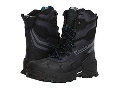 Columbia Bugaboot Plus IV XTM Omni-Heat (Black/Phoenix Blue) Men
