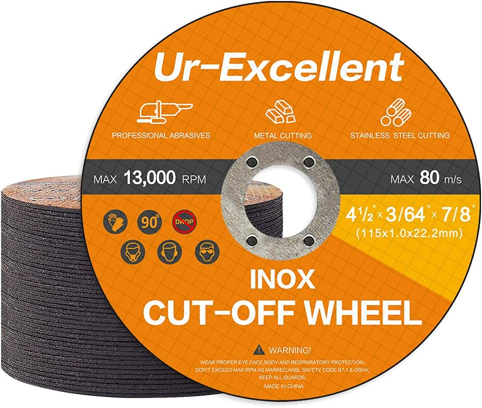 Rapid rise Ur-Excellent 50 Pack 4 1 2 Tucson Mall Inch Thin Cutting Off Cut Wheels Whe