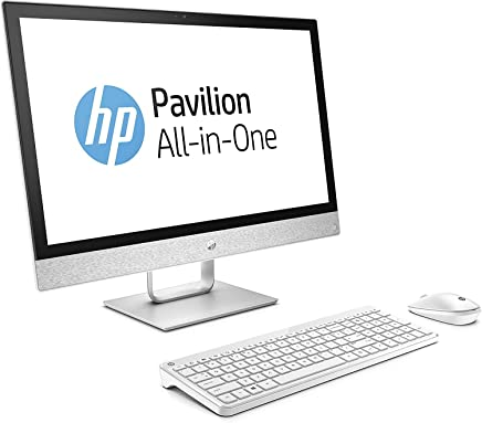 """HP Pavilion 24 Desktop 1TB SSD Win 10 PRO (Intel Core i5-8400T Processor with Turbo Boost to 3.30GHz, 16 GB RAM, 1 TB SSD, 24"""" Touchscreen FullHD, Win 10 PRO) PC Computer All-in-One"""