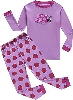 Family Feeling Pajamas Sets Little Big Girls 100% Cotton Kids PJS 18Months-Size 14