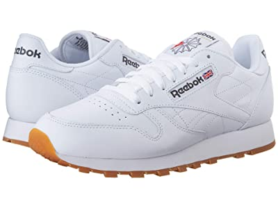 Reebok Lifestyle Classic Leather (White/Gum) Men