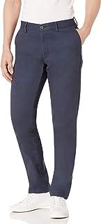 Amazon Essentials Homme Pantalon Chino Sans Pince Infroissable Coupe Ajustée
