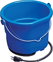 Allied Precision Industries Heated Flat Back Bucket for Horses and Large Dogs
