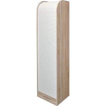 Schedario Col: Bianco 13Casa Mcbeal A8 Mat: Nobilitato. Dim: 45,5x39x190 h cm