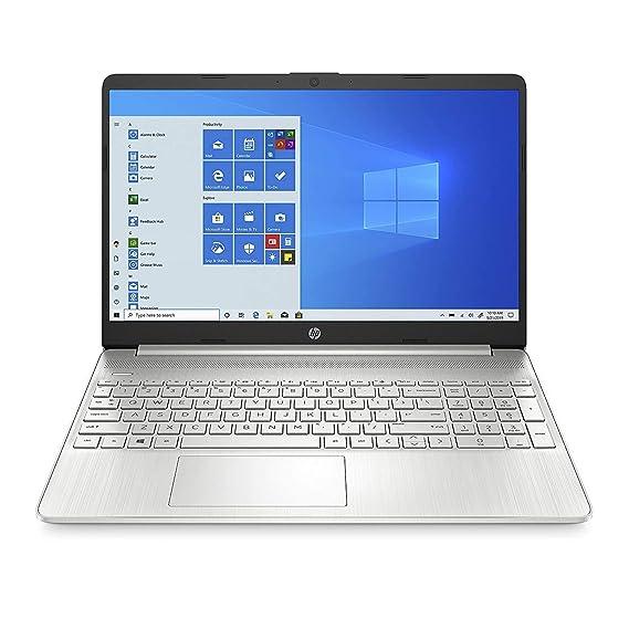 (Renewed) HP 15 10th Gen Intel Core i5 Processor 15.6-inch FHD Laptop (8GB/1TB HDD/Win 10 Home/MS Office/Finger Print Reader/Natural Silver), 15s du1034TU