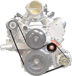ICT Billet LS1 Alternator Only BELT & PULLEY LSX LS Power Steering Compatible with Pontiac Firebird Formula Trans Am WS6 Firehawk 1998 1999 2000 2001 2002551550