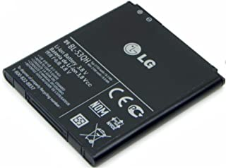 BL-53QH for LG Optimus 4X HD P880 ~ Extended Capacity 3600mAh Li-Ion Battery + Back Cover ~ Mobile Phone Repair Parts Replacement