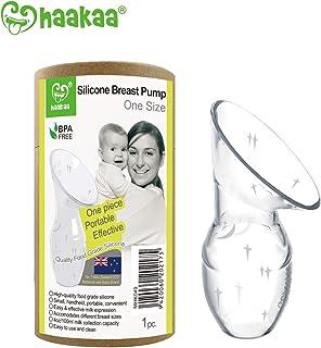 Haakaa Silicone Breastfeeding Manual Breast Pump Milk Pump 100% Food Grade Silicone BPA PVC and Phthalate Free