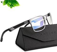 Blue Light Blocking Glasses for men women Classic Rectangle Blue Light Glasses Lightweight Eyeglasses Frame