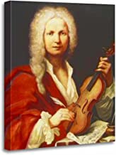 TORASS Canvas Wall Art Print Music Antonio Vivaldi Musicians Composers Classical Artists Artwork for Home Decor 16