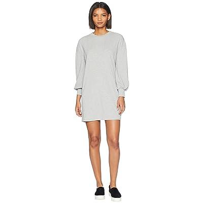 Volcom Lil Long Sleeve Dress (Heather Grey) Women