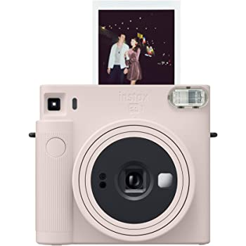 Fujifilm Instax Square SQ1 Instant Camera- Chalk White (16670522)