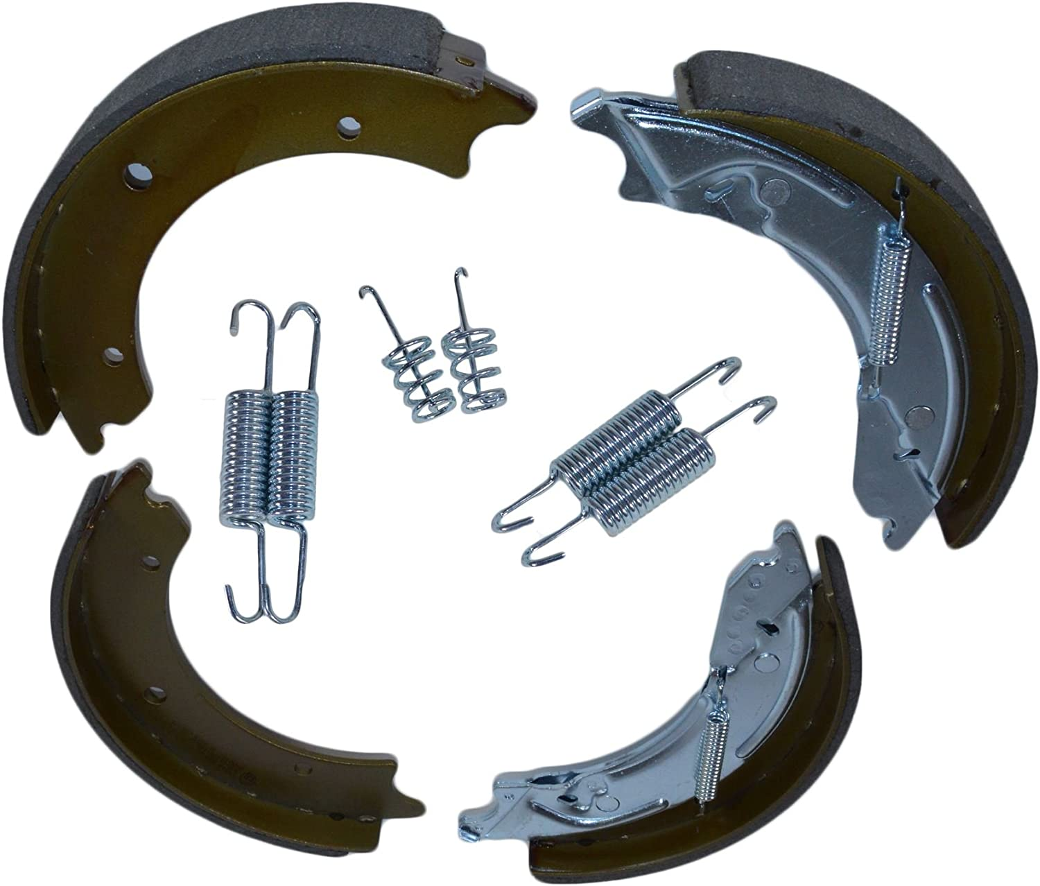 AB Tools-URB Trailer Brake Shoe Spring x Kit We OFFer at cheap prices Replacements Max 73% OFF 250mm