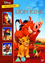 The Lion King 1-3 Spain - Importation  Region2 Requires a Multi Region Player