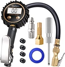 AstroAI ATG250 Digital Tire Inflator with Pressure Gauge, 250 PSI Air Chuck and Compressor Accessories Heavy Duty with Rubber Hose and Quick Connect Coupler for 0.1 Display Resolution