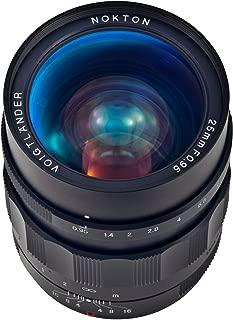 Voigtlaender Nokton 25/0,95 MFT TYP II 25 mm-25 mm Lens