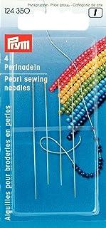 Prym 124,350 Aiguilles À Coudre en Perles, Steel, Argenté, Taille Unique