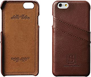 Simons of London iPhone 6/6s Luxury Leather Case with Slots for ID/Bank Cards | Ultra Slim Fit Cases