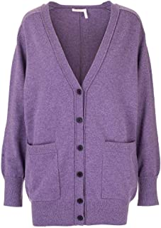 CHLOÉ Luxury Fashion Womens CHC19AMC22500575 Purple Cardigan | Fall Winter 19