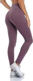 Anwell Seamless Sporthose Damen mit Tasche Fitness Zuhause Leggings