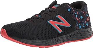 حذاء جري New Balance للأطفال مصنوع من الإسفنج الطازج Arishi V2 برباط, (أسود/فلفل شبح/سماء افتراضية), 38 EU