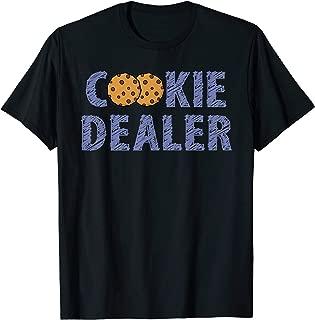 Scout Shirt Girl Funny Cookie Dealer Troop Leader Gift Shirt