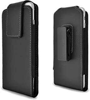 iPhone 6s Plus Holster Case, Gcepls iPhone 7 Plus Premium Leather Holster Belt Case with Clip / Loops Belt Pouch Holder Cover with Built in Card Slot for iPhone 6 Plus 7 Plus 8 Plus
