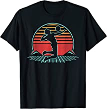Volleyball Retro Vintage 80s Style Beach Player Gift T-Shirt