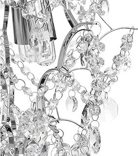 Best hampton bay 3 light chrome crystal tear chandelier Reviews